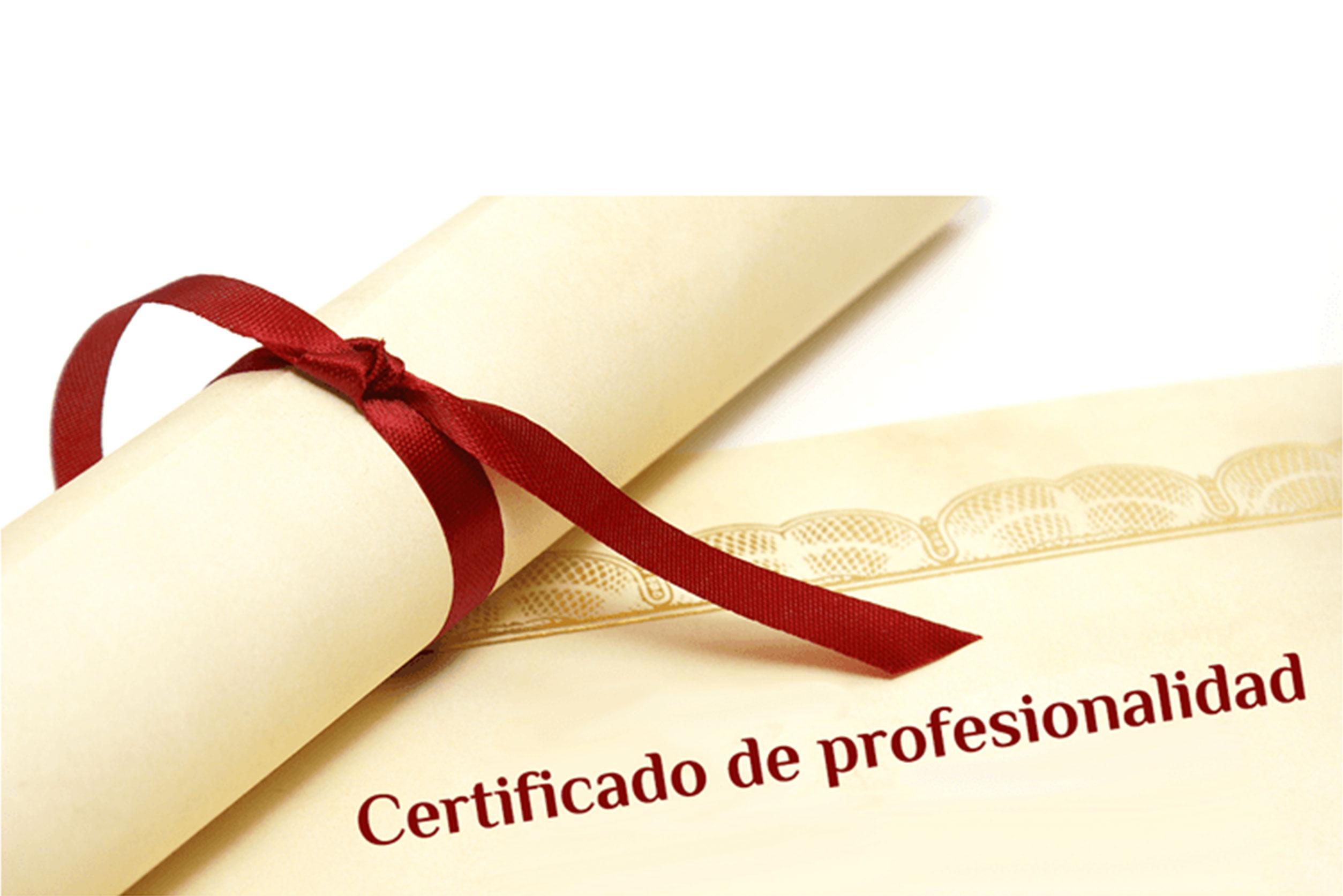 Cert. de Profesionalidad